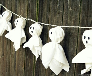 Halloween, ghost, and diy image