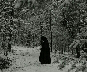 snow, black, and black and white image