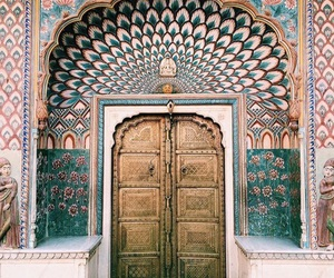 architecture, door, and travel image