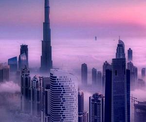 calm, Dubai, and purple image