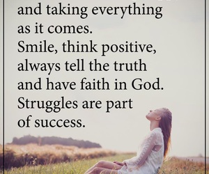positive and god image