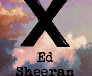ed sheeran, clouds, and music image