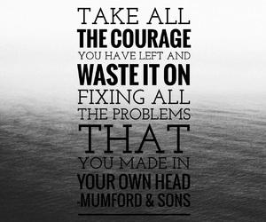easel, Lyrics, and mumford & sons image