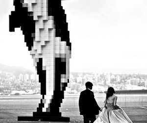 digital art, dress, and whale image