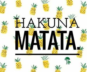 hakuna matata, wallpaper, and tumblr image