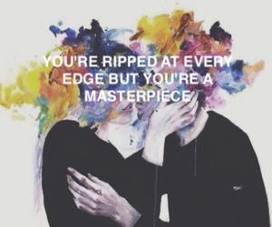 halsey, colors, and Lyrics image
