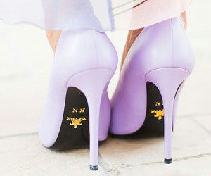 fashion, heels, and Prada image