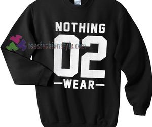 sweater, unisex adult clothing, and sweatshirt image
