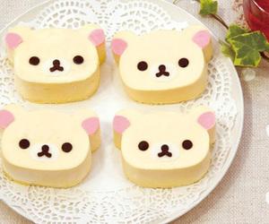 cute, food, and rilakkuma image