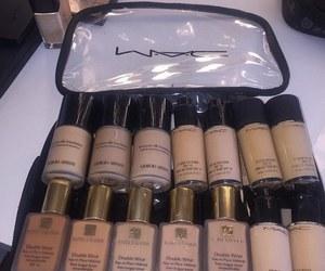 makeup, mac, and Foundation image