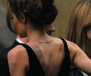 tattoo and Angelina Jolie image