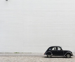car, photography, and white image