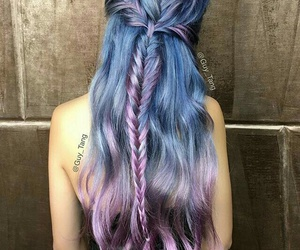 amazing, colored hair, and hair image