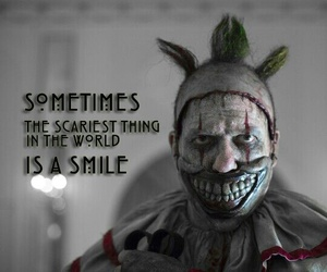 ahs, american horror story, and twisty the clown image