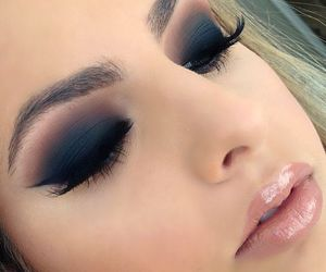 beautiful, eye makeup, and flawless image