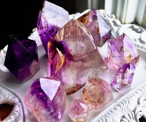 crystals and purple image