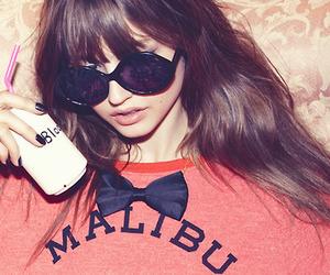 girl, malibu, and glasses image