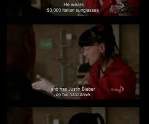 ncis, funny, and justin bieber image