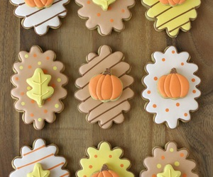 Cookies, fall, and pumpkin image
