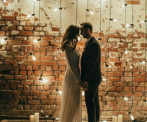 couple, love, and light image