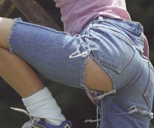 jeans, tumblr, and pale image