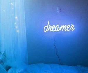 blue, dreamer, and light image