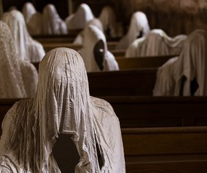 church, creepy, and installation image