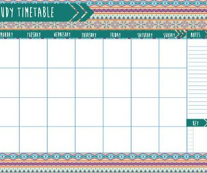 beauty, calendar, and schedule image