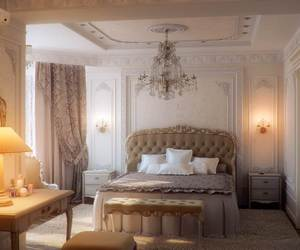 design, headboard, and luxury bed image