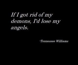 demon, quotes, and angel image