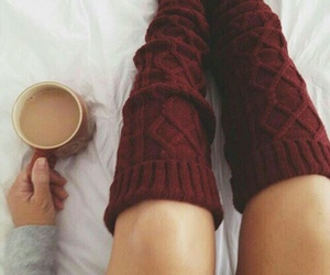 autumn, coffee, and beauty image