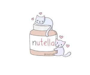 nutella and overlay image