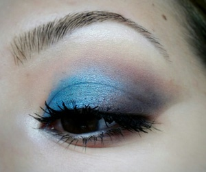 brow, eye, and lashes image