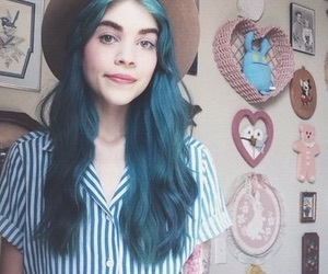beautiful, blue, and bluehair image