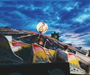 carousel, tumblr, and sunset image