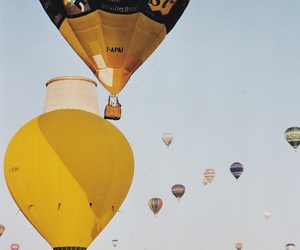 adventure, air, and balloons image