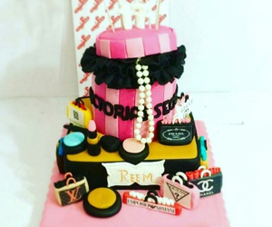 birthday cake, black, and cake image