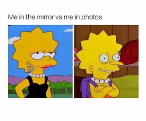 funny, mirror, and lol image