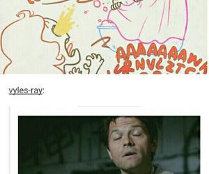 funny, spn, and supernatural image
