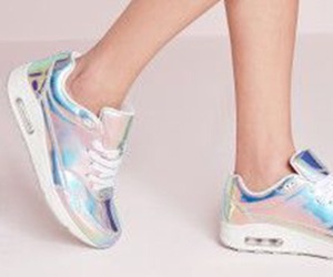 holographic and shoes image