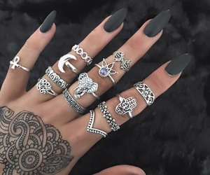 black, jewelry, and different image