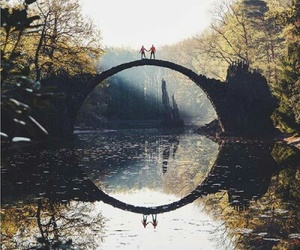 nature, bridge, and photography image
