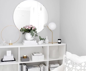 decor, room, and white image