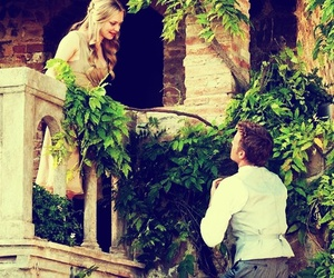 love, couple, and letters to juliet image