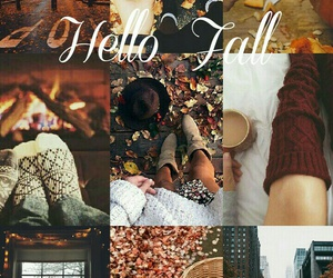 autumn, cozy, and orange image