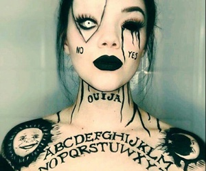 Halloween, makeup, and ouija image