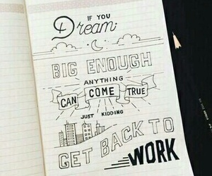 draw, quotes, and work image