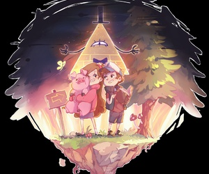 pato, mabel, and dipper image