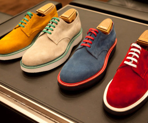 men, fashion, and shoes image
