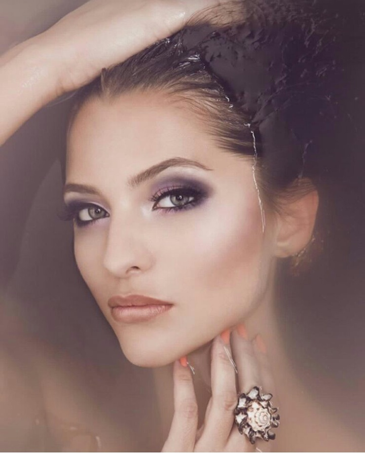 beautiful, top model, and make up image